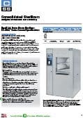 Vertical Door Sterilizers Specification Sheet