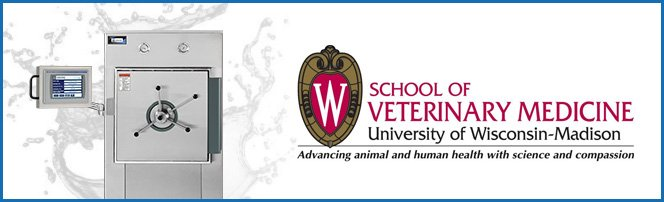 High-Tech Steam Autoclave Donated by CSS to The University of Wisconsin's School of Veterinary Medicine