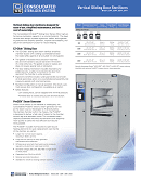 EZ-Glide™ Vertical Door Sterilizer Brochure